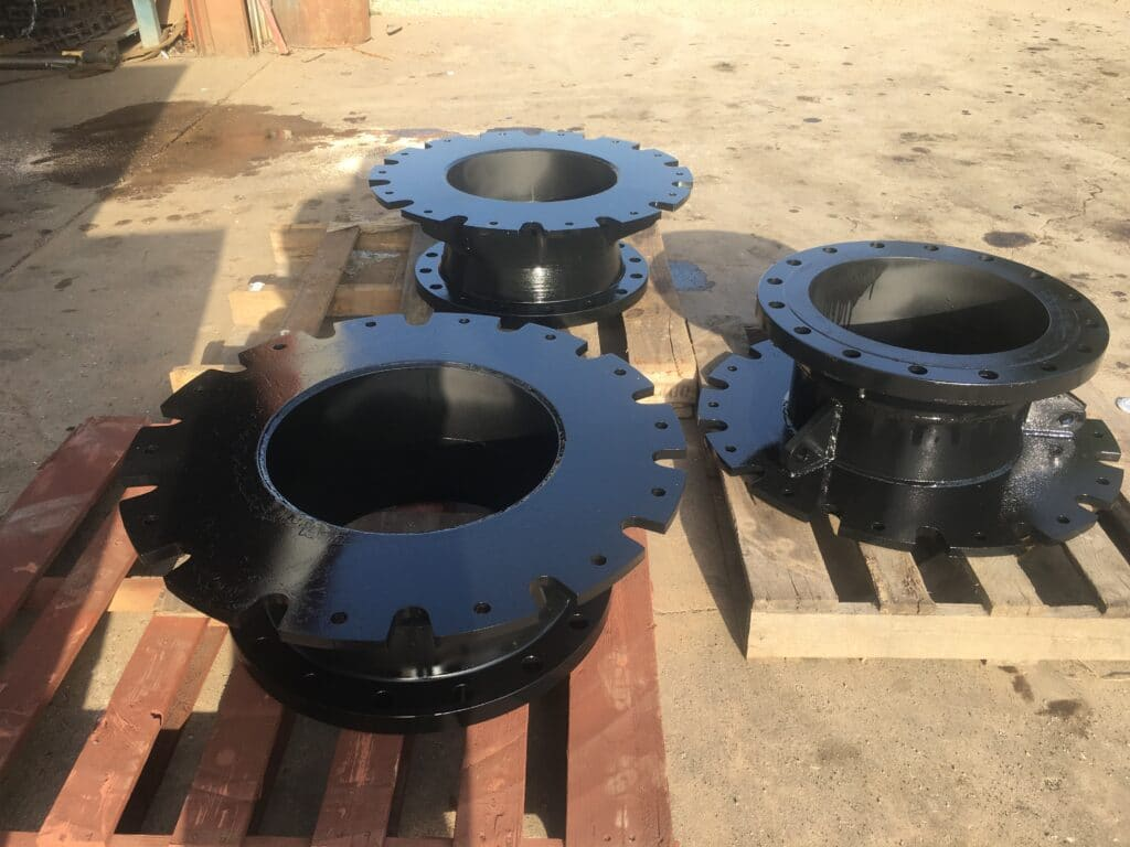 cold tap flanges