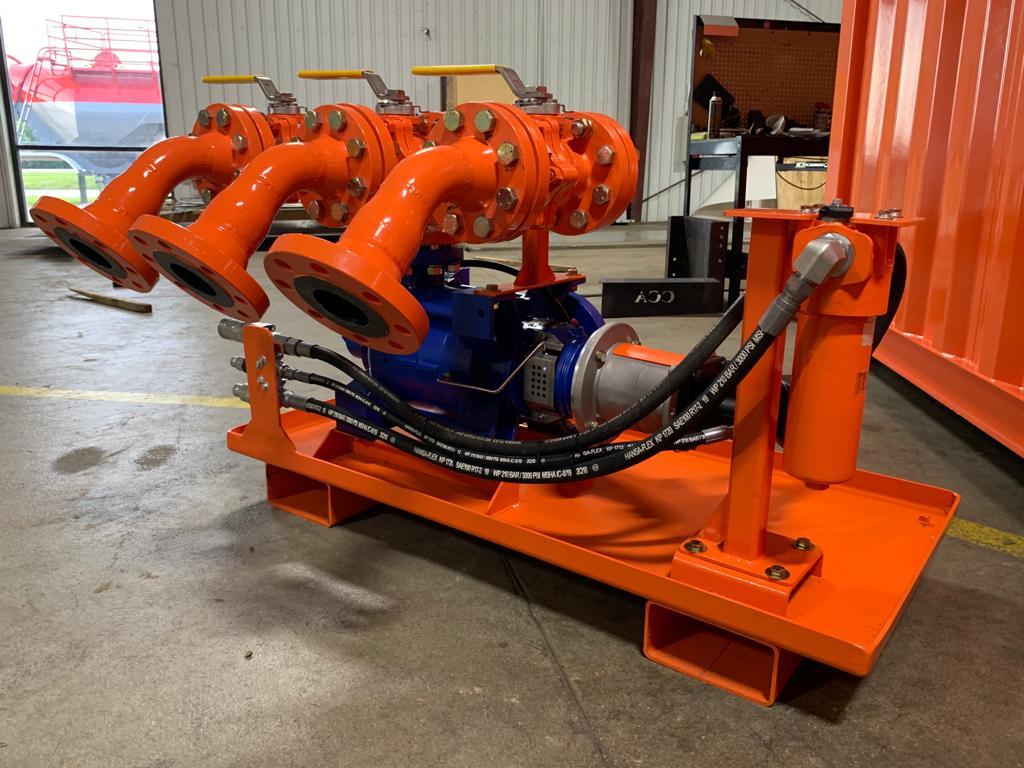 manway cannon pressure pump